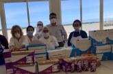 Caritas y La Cocina Solidaria recibe material sanitario y alimentos donados por Cohebu
