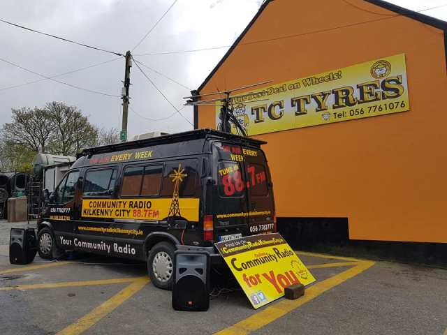 TC Tyres Outside Broadcast