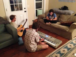We played music and called it a day —and with rebar in the hot son, it is a long day.