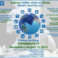 Salone Twitter Chat on Ebola