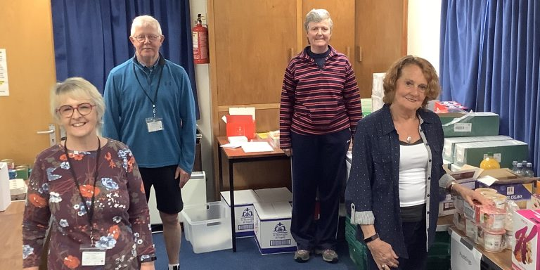 Volunteers at St Andrew's Methodist Church