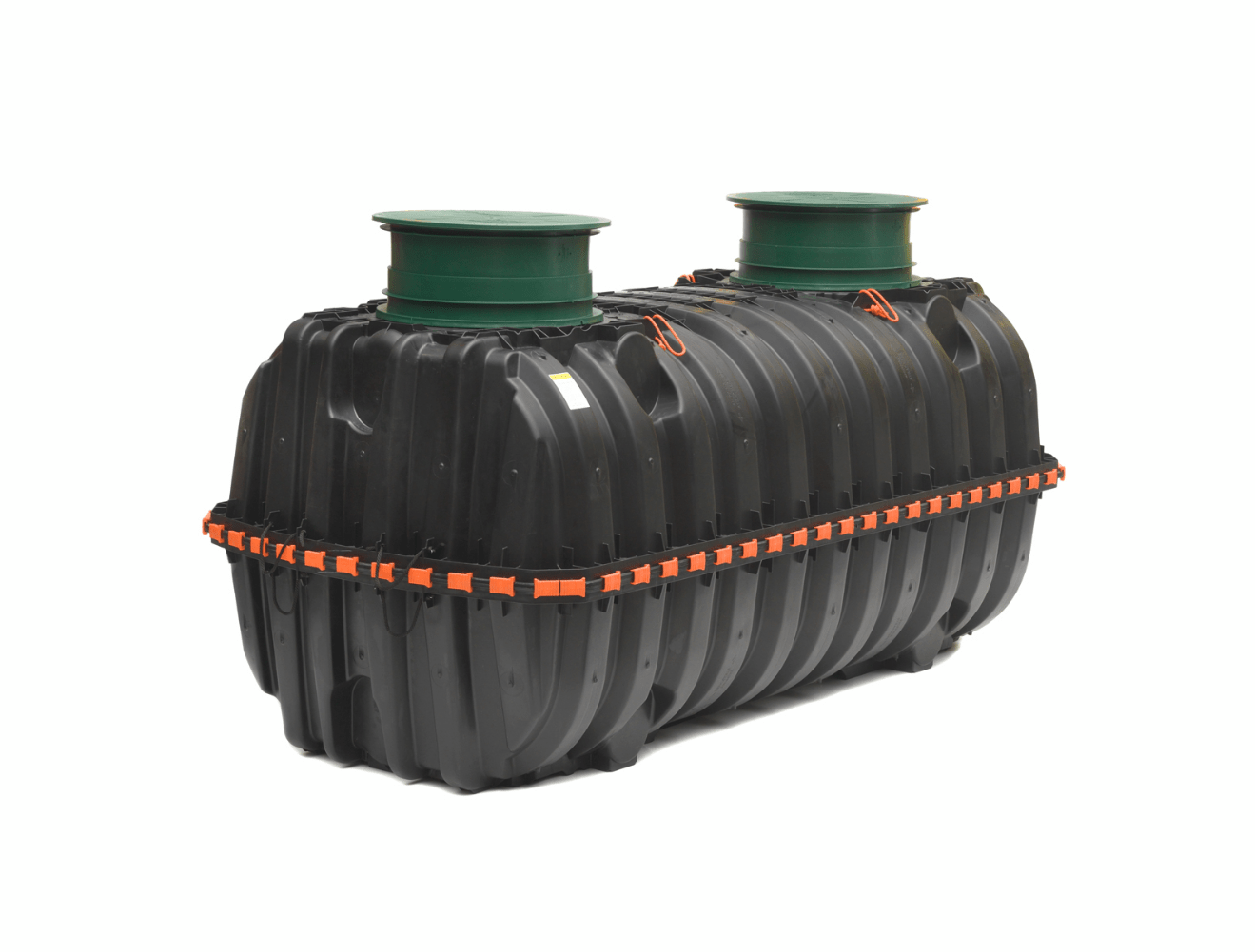 septic tank with risers