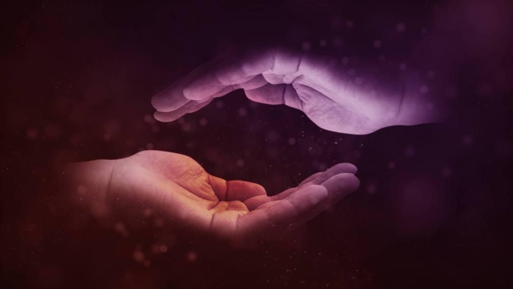 hands moving together