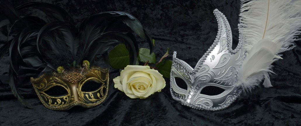 Rose and masks
