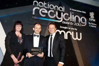 NCWRP Materials Recycler of the Year (SME) at the National Recycling Awards