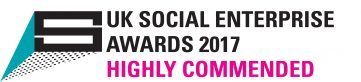 Community Wood Recycling is Highly Commended in the UK Social Enterprise Awards