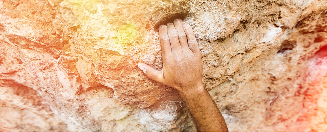 Lead Me to the Rock that Is Higher than I (Psalm 61:2)