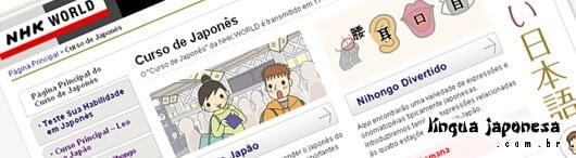 Curso de nihongo grátis no NHK World Online