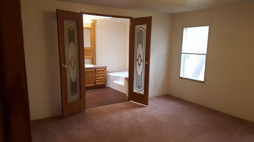 master bathroom dual doors