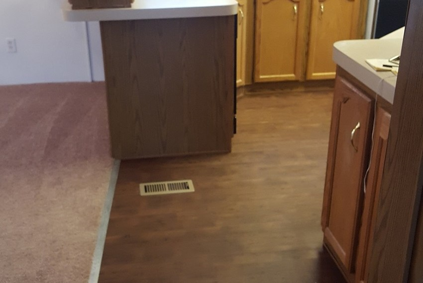 mobile home flooring