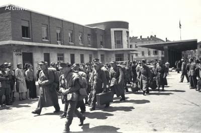 German troops surrender at Chiasso