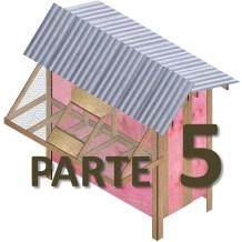 Modelo de pombal em Madeirite 5ª parte