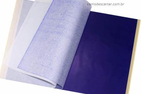 Descartar papel carbono, qual maneira correta
