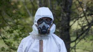 Descarte de acetona e outros produtos tóxicos