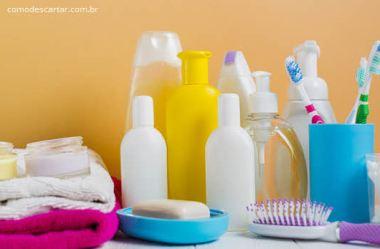 Como descartar pasta de dente e tubo