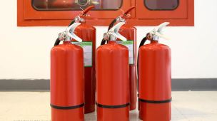 Como descartar extintores de incêndio