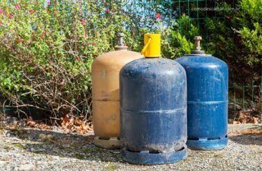 Como descartar botijão e cilindro de gás GLP