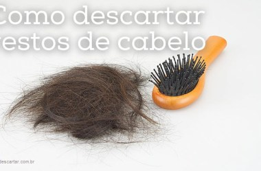 Como descartar cabelo