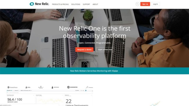 teste de velocidade de site new relic