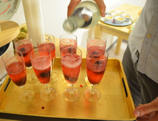 Welcoming drink