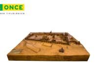 Plano de Avila 360 en el Museo Tiflologico de la ONCE