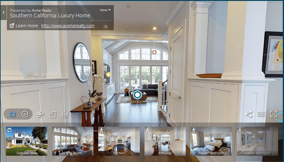 Servicios de Visita Virtuales 3D Inmersivas y Realidad Virtual - Como estar allí