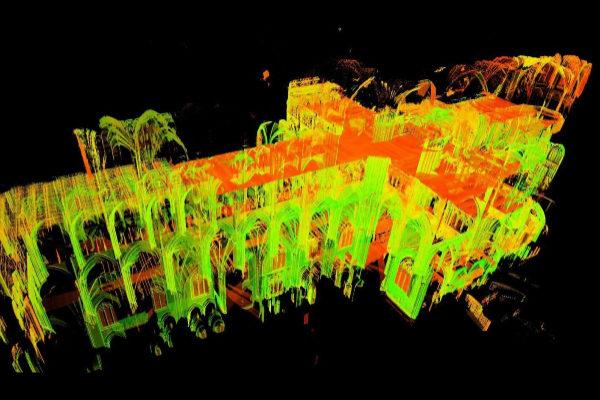 notre dame tecnologia escaneado 3d para la ayuda en su reconstruccion