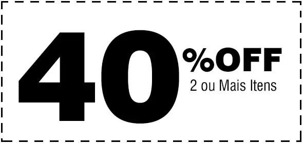 40% Desconto Cartão de Visita