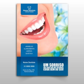 Panfleto Dentista Modelo 02