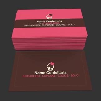Cartão de Visita Confeitaria Modelo 01
