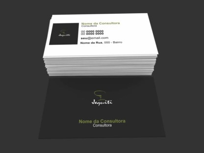Cartão de Visita Jequiti Modelo 02