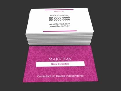 Cartão de Visita Mary Kay Modelo 04