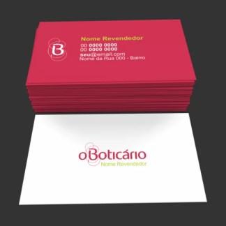 Cartão de Visita O Boticário Modelo 03