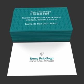Cartão de Visita Psicologia Modelo 02