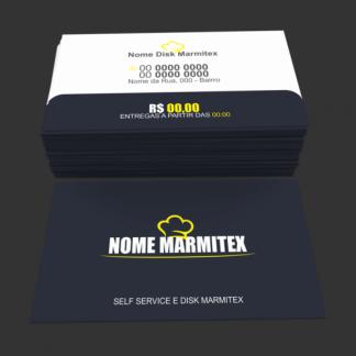 Cartão de Visita Restaurante e Marmitex Modelo 03