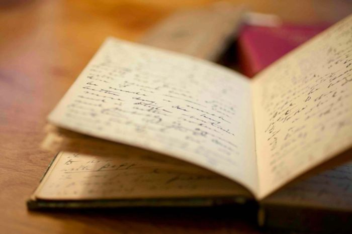 El diario personal puede servir para dejar fluir nuestra voz interior, preguntas y respuestas, anecdotas...