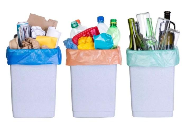 El primer paso del proceso de reciclaje es la clasificacion de los envases