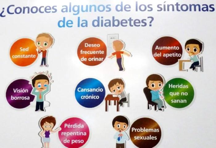 Sintomas que puede padecer una persona con diabetes: www.sanacionantural.net