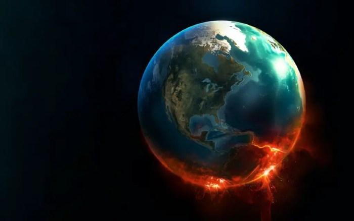 Calentamiento global del planeta tierra