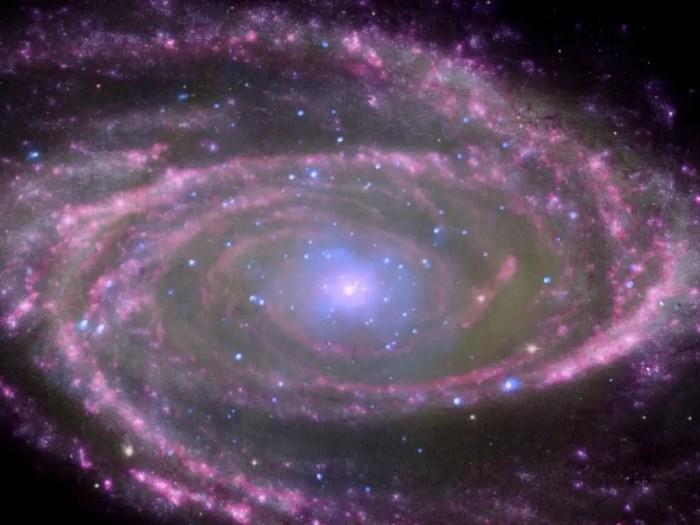 Las caracteristicas de la via lactea hacen que sea una galaxia unica
