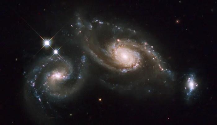 La colision entre galaxias podria llegar a producirse en el futuro