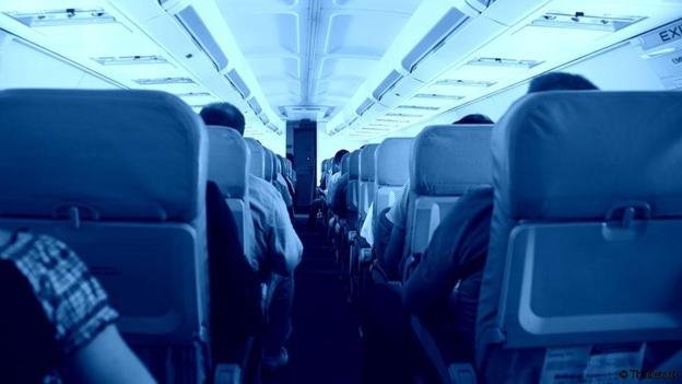 flatulencias durante el vuelo