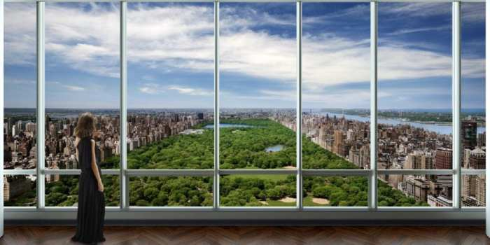 Vistas desde la One57 Penthouse