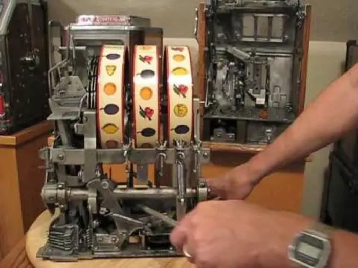 funcionamiento de las maquinas tragamonedas