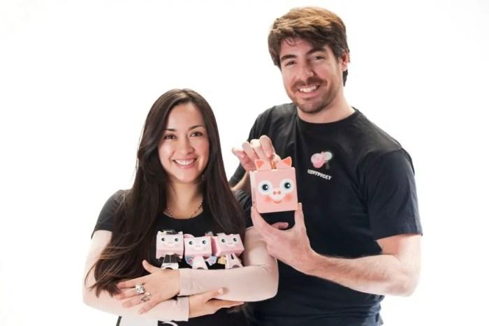 Maritza y Pablo también ofrecen consejos a otras startups. Imagen: Agent Piggy