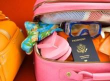 preparar equipaje para un viaje