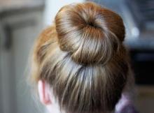 Cómo hacer un buen moño en el cabello