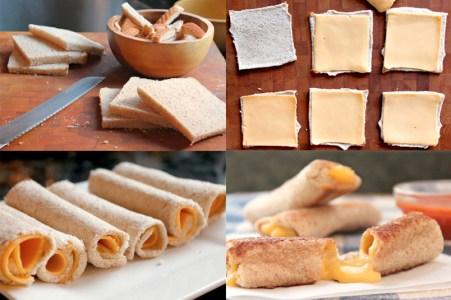 Cómo hacer rollitos de pan francés 1