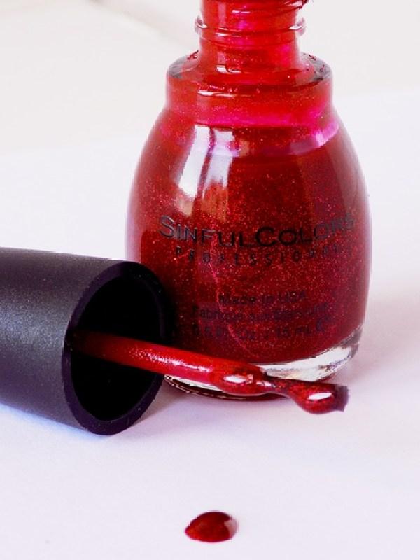 Contemporáneo Brillo Rojo Esmalte De Uñas Ideas - Ideas de Diseño de ...