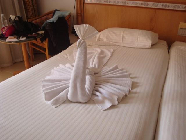 ¿Cómo doblar toallas con formas de animales?